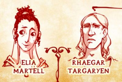 A sneak peek on the Targaryen family tree