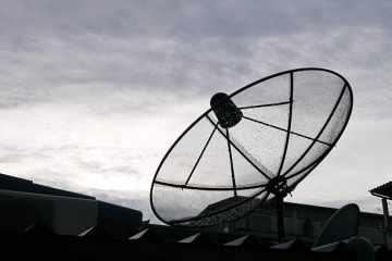 protect satellite antenna