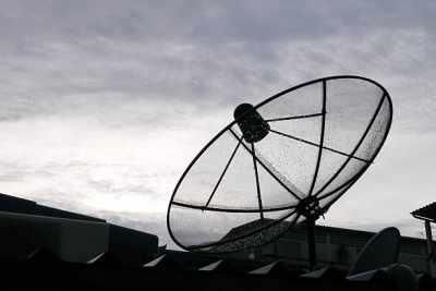 protect satellite antenna