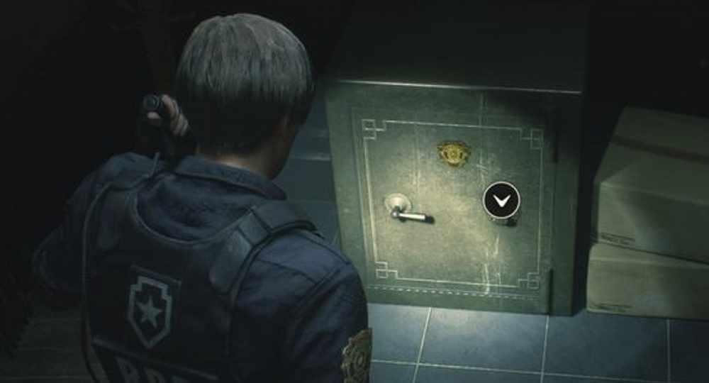 resident evil 2 safe codes