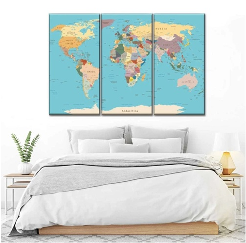 8 Cool Travel-Themed Wall Décor Ideas to Rock